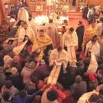 Seară de rugăciune la Mănăstirea Valea Budului