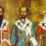 Sfintii Trei Ierarhi, cei mai mari pastori ai crestinatatii