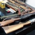 Arme detinute ilegal identificate