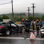 Accident rutier produs pe fondul neatenției în conducere