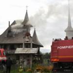 Incendiu în incinta Mănăstirii Cucova