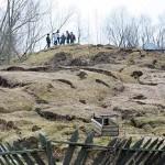 ISU Bacău intervine în sprijinul populaţiei afectate de alunecările de teren din comuna Răcăciuni