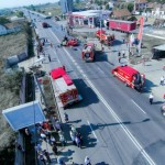 Exercitiu pentru antrenarea structurilor de interventie in cazul producerii unui accident rutier