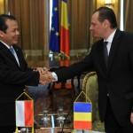 Întâlnirea  domnului deputat Petru Gabriel Vlase, vicepreședinte al Camerei Deputaților, cu delegația parlamentară indoneziană