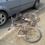 Accident rutier produs pe fondul neacordării priorității de trecere