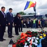 Ceremonia traditionala de comemorare a victimelor de la complexul lagarelor Mauthausen