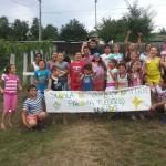 Şcoală de vară pentru copiii defavorizaţi la Fulgeriş