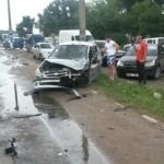 Accident rutier produs pe fondul neacordării priorităţii de trecere