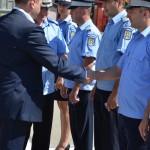 Avansare în grad la Gruparea de Jandarmi Mobilă Bacău