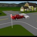 Accident rutier pe fondul nerespectării semnificaţiei indicatoarelor rutiere