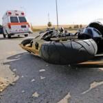 Motociclist rănit intr-un accident rutier