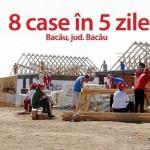 BIG BUILD 2015: Dedeman – partener principal al evenimentului 8 familii din Bacău vor avea propria casă, ridicată în numai 5 zile