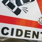 Accident rutier produs pe fondul neadaptării vitezei