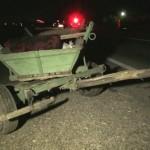 Aflați sub influența alcoolului, un conducător auto și un căruțaș au fost implicați    într-un eveniment rutier