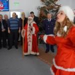 Daruri de la Moș Crăciun pentru copiii polițiștilor din Bacău
