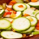 Preparat sanatos din dovlecei cu legume