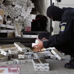Țigarete de contrabandă, confiscate