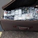 Transport de țigarete confiscat de polițiști