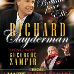 Richard Clayderman in concert de Ziua Femeii in Bacau