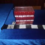 60 de pachete de ţigări fără timbru de provenienţă