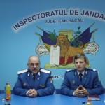 Ultima zi a generalului de brigadă Enache Vasile la cârma Inspectoratului de Jandarmi Judeţean Bacău