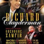 Doi titani ai muzicii concertează împreună – Richard Clayderman și Gheorghe Zamfir