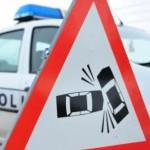 Accident rutier cercetat de polițiști în Buhuși