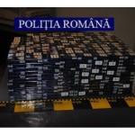 Aproape 140 000 de țigarete, fără timbre fiscale, confiscate de polițiștii din Bacău