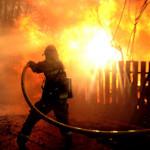Incendiu în comuna Horgești