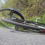 A căzut de pe bicicletă din cauza alcoolului