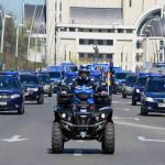 Jandarmi Mobilă Bacău la datorie de Sfintele Sărbători de Paşti