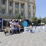 BCR parchează camionul educației financiare în Piața Universității din București