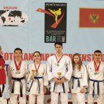 """Clubul Sportiv """"Dan Botezatu"""" s-a întors cu medalii din Muntenegru"""